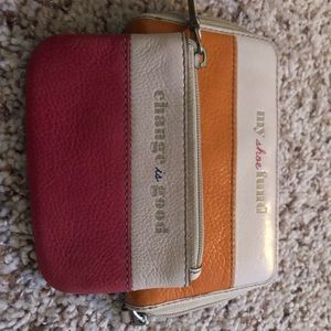 Fossil Zip Around Wallet and Coin Purse